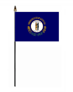 Kentucky Hand Flag - Small.